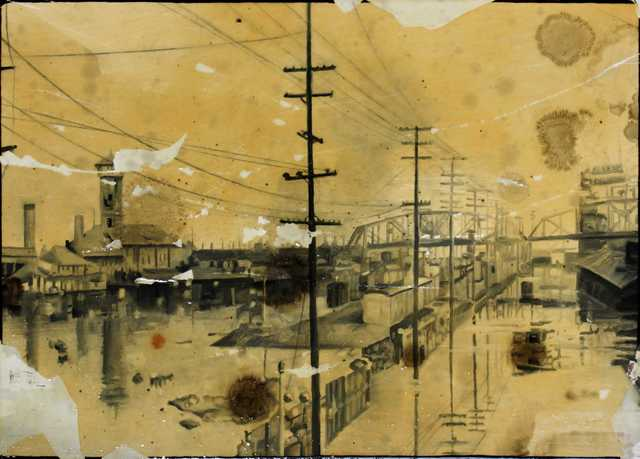 , 'Columbia River 1948,' 2011, Jean-Marie Oger