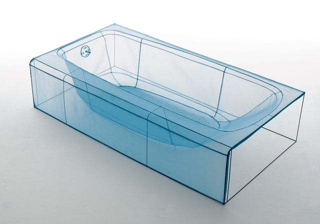 Do Ho Suh, 'Bathtub, Apartment A, 348 West 22nd Street, New York, NY 10011, USA', 2013, Sculpture, Polyester fabric, stainless steel wire and display case with LED lighting, Victoria Miro