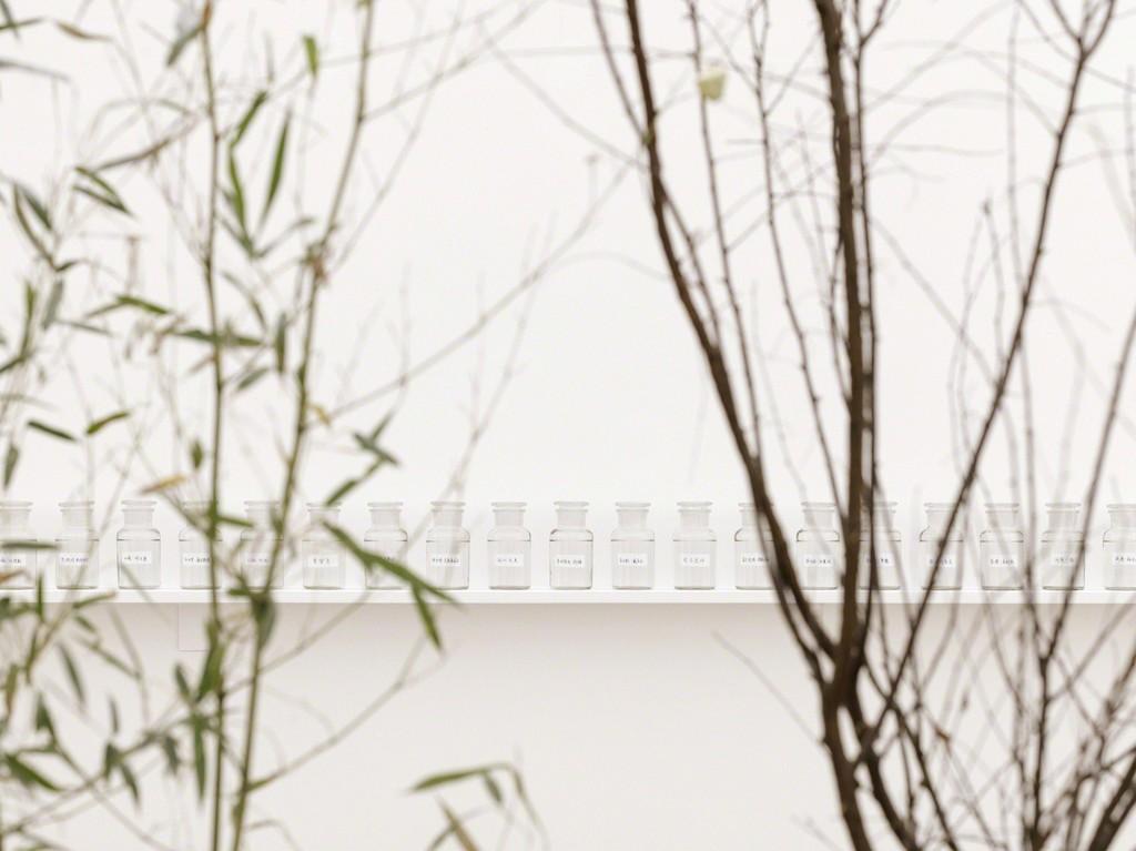 "Installation photo from ""Yoko Ono: Golden Ladders"" Faurschou Foundation, Beijing (2015). Photo by Jonathan Leijonhufvud © Faurschou Foundation"