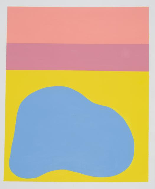 , '1979 (bandes roses),' 2017, Galerie Antoine Ertaskiran