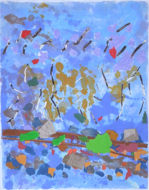 , 'Dancing Stripe,' 2006, STPI