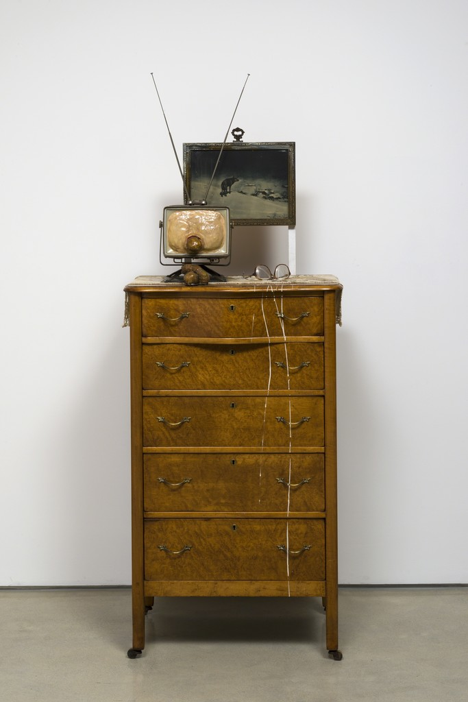 Useful Art No. 1 (chest of drawers & tv)