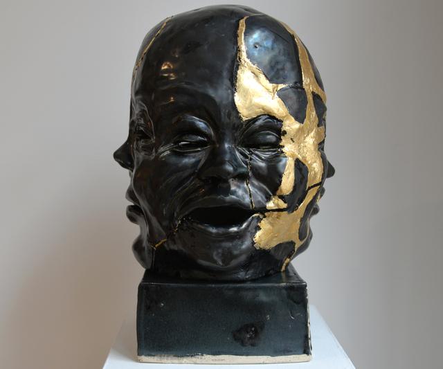 , 'Kintsugi Buddha,' 2015, Carter Burden Gallery