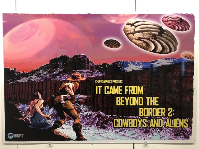 , 'IT CAME FROM BEYOND THE BORDER 2: COWBOYS AND ALIENS,' , Ro2 Art