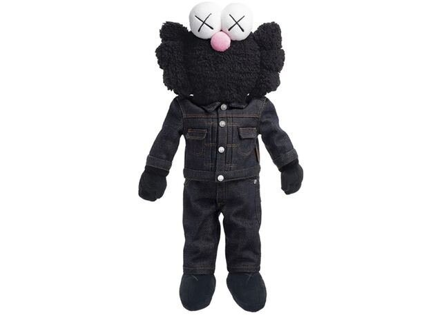 KAWS, 'BFF Dior Plush Doll (Black)', 2019, Vroom & Varossieau