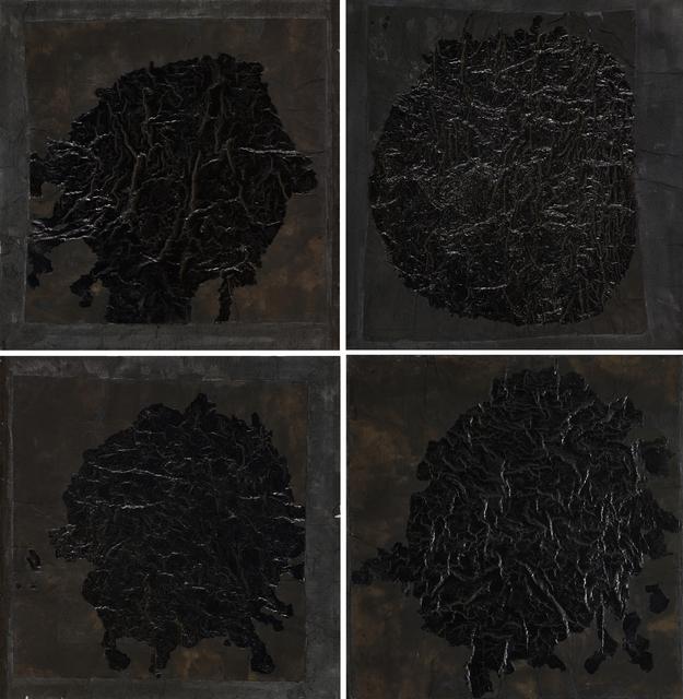 , 'Yuan 1-4,' 1995, Ink Studio