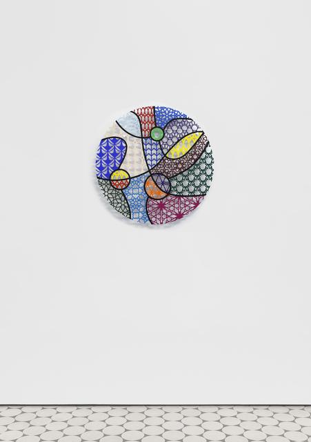 Nevin Aladağ, 'Pattern Kinship, path in the forest', 2020, Sculpture, Waterjet cut aluminium, acrylic paint, Wentrup
