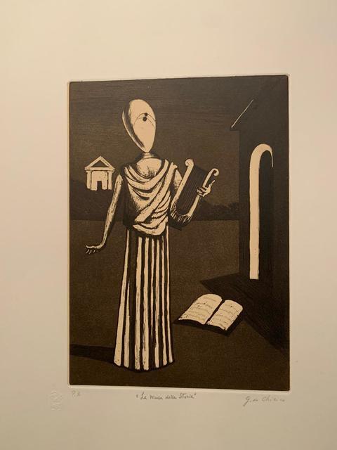 Giorgio de Chirico, ' La Musa della Storia', 1970, Galerie AM PARK