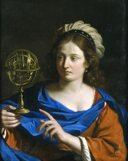 Guercino, 'Personification of Astrology', 1650, Blanton Museum of Art