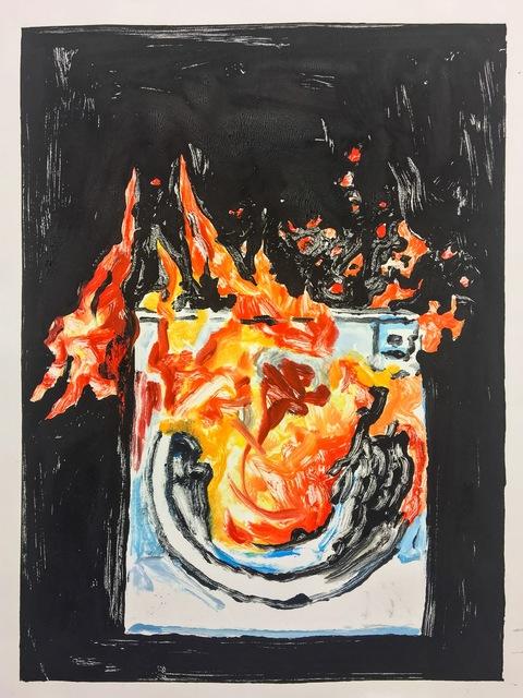 , 'Dryer Fire,' 2017, Cross Contemporary Partners