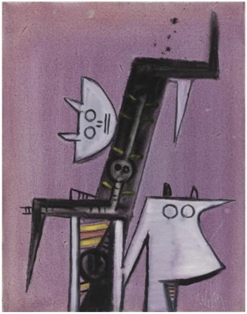 , 'Totem,' 1972, Leon Tovar Gallery