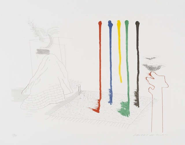 David Hockney, 'I say they are (S.A.C 193)', 1976-77, Forum Auctions