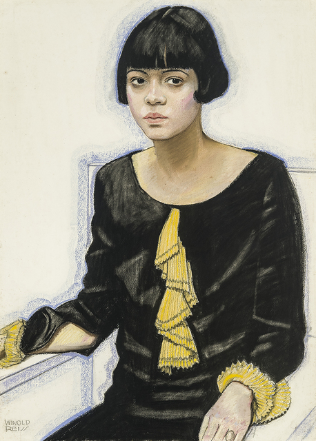 , 'Portrait of Sari Patton,' 1925, Hirschl & Adler Galleries