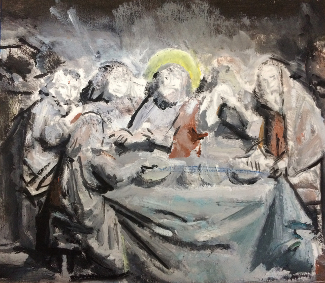 , 'Last Supper,' 2017, Robert Kananaj Gallery