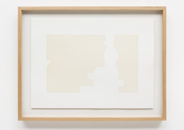 Cinthia Marcelle, 'Just in Case #5', 2009, Drawing, Collage or other Work on Paper, Masking tape on paper, Bergamin & Gomide