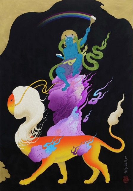 Tenmyouya Hisashi, 'Rainbow God', 2018, Mizuma Art Gallery