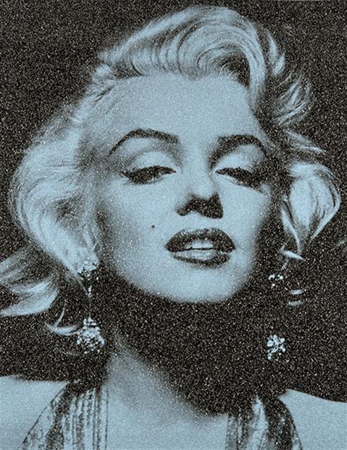 , 'Marilyn Portrait (Alice Blue series),' 2014, Zemack Contemporary Art