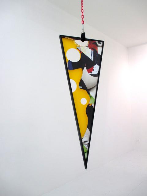 Kate Steciw, 'Composition 520q', 2015, Mixed Media, UV Print on dibond, plaxi, wood, The Hole