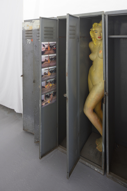 , 'Locker Room,' 2002, FUTURA Centre for Contemporary Art