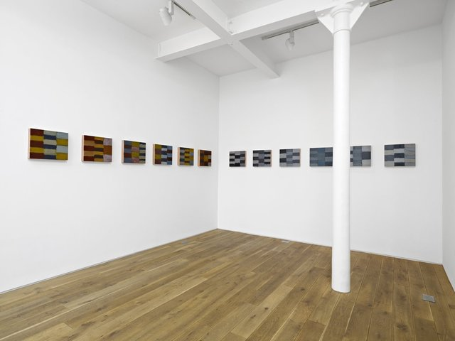 Sean Scully, ''Twelve Triptychs' Installation view of the solo exhibition 'Sean Scully: Iona', Ingleby Gallery, Edinburgh (April - June 2010)', 2008, Ingleby Gallery