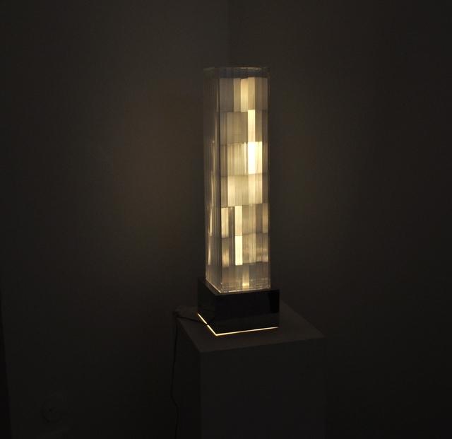 , 'Cromo Struttura,' 1961, Galleria Spazia