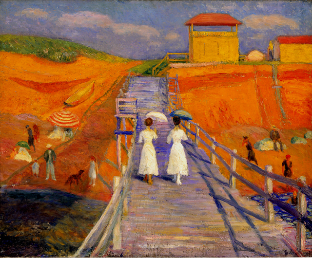 , 'Cape Cod Pier,' 1908, Parrish Art Museum