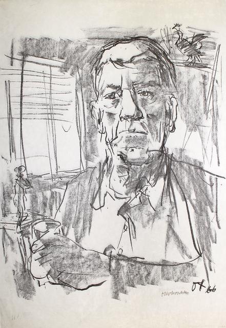 , 'Selbstbildnis mit Statuette,' 1966, Sylvan Cole Gallery