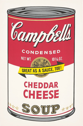 Andy Warhol, 'Cheddar Cheese, from Campbell's Soup II,' 1969, Phillips: Evening and Day Editions
