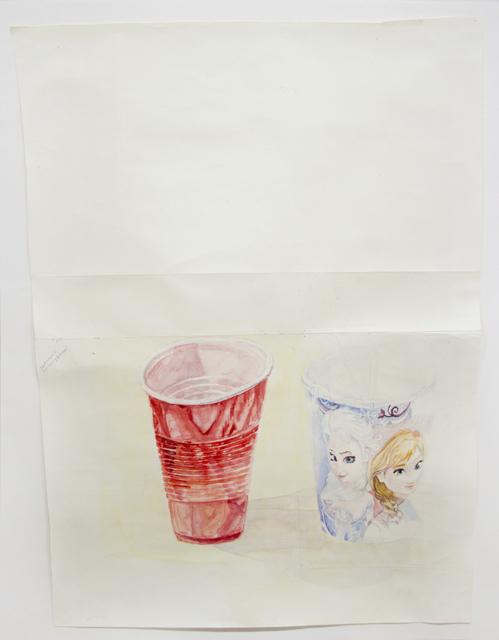 , 'Party Cups,' 2015, Pierogi