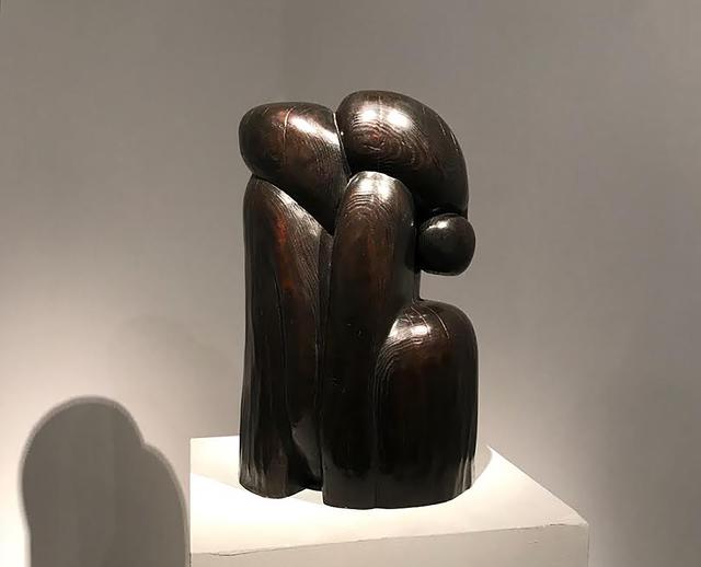 Wang Keping 王克平, 'Bronze sculpture by Wang Keping 王克平 - Couple', 1999, Boccara Gallery