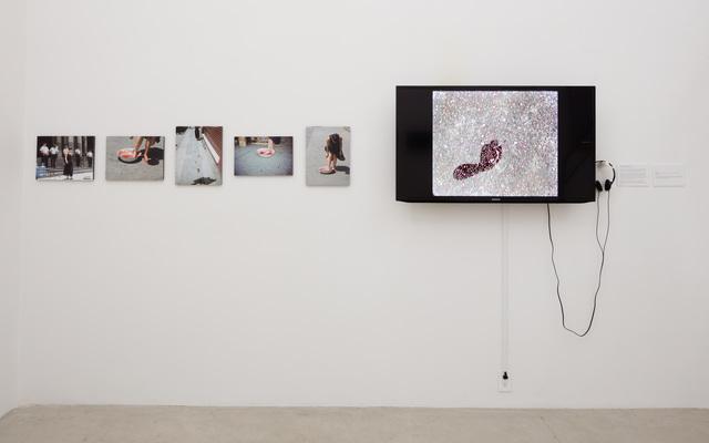 , 'Who Can Erase the Footprints?,' 2003, Baik Art