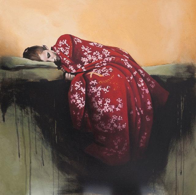 , 'Red Kimono,' 2016, Pontone Gallery