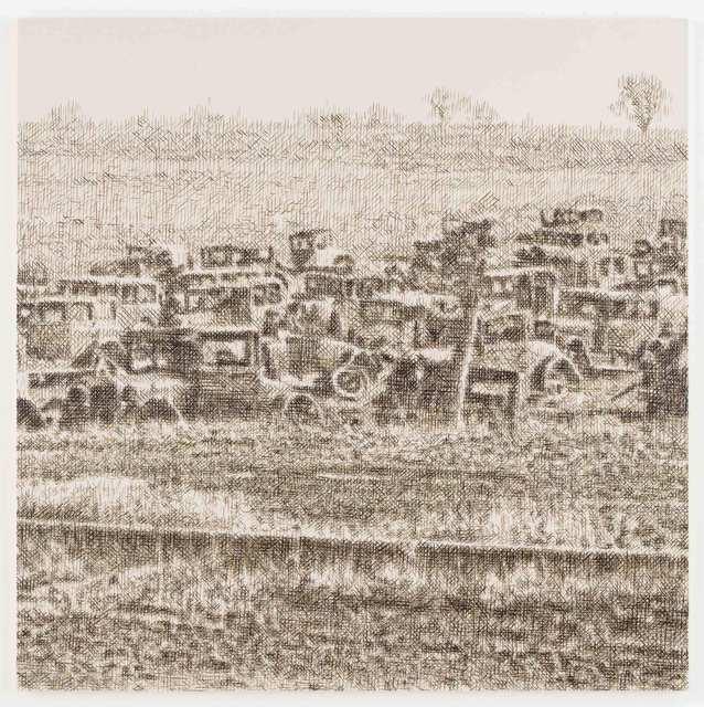 , 'Joe's Auto Graveyard, Pennsylvania, 1936 (Walker Evans),' 2015, Stephen Friedman Gallery