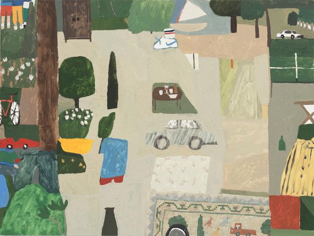 , 'Pingpong, Sailboat, Sampler, Car,' 2018, Steve Turner