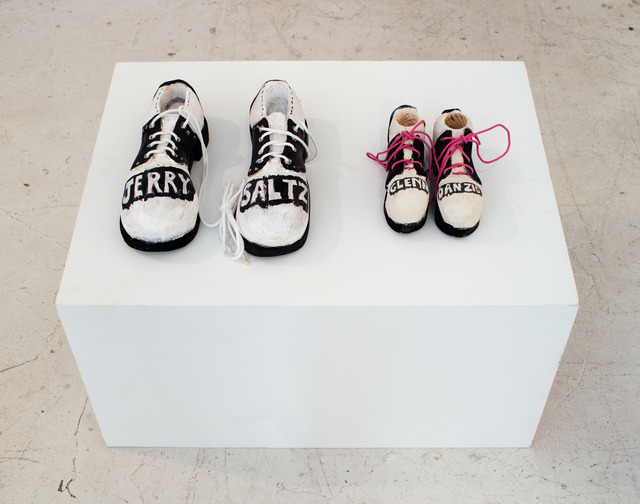 , 'Jerry Saltz and Glenn Danzig's Childhood Shoes,' 2017, ADA Gallery
