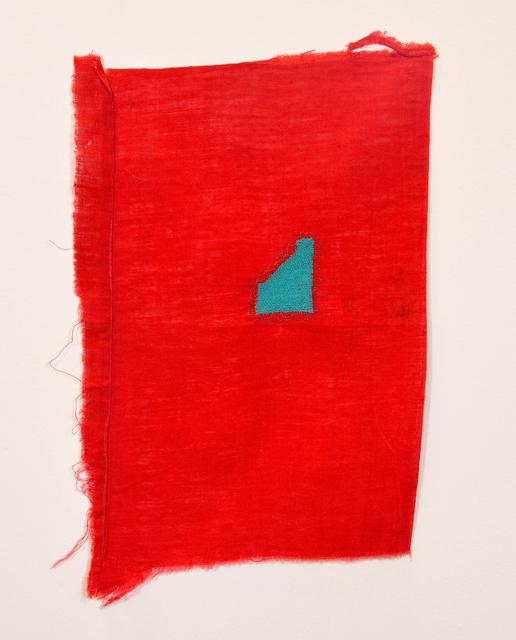 , 'Untitled (Teal Slope),' 2013, Sundaram Tagore Gallery