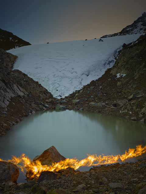 , 'The Lewis Glacier, Mt. Kenya, 2004 (A),' 2014, Benrubi Gallery