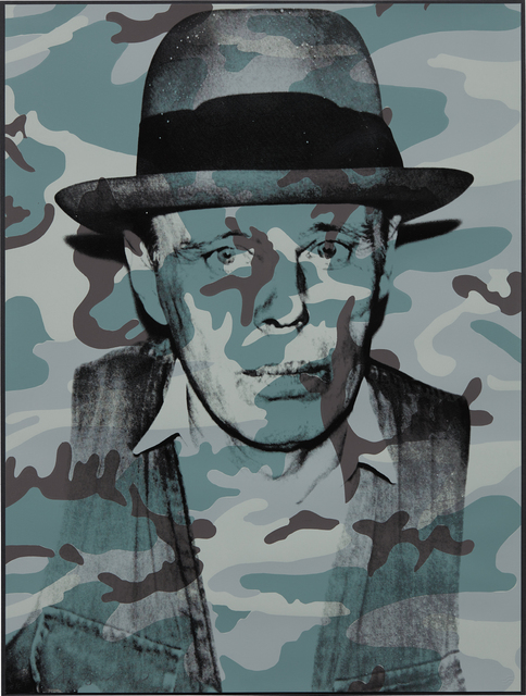 Andy Warhol, 'Joseph Beuys in Memoriam', 1986, Print, Screenprint in colors, on Arches 88 paper, the full sheet, Phillips
