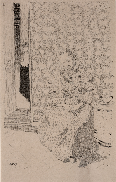 Édouard Vuillard, 'Seamstress', Dallas Museum of Art
