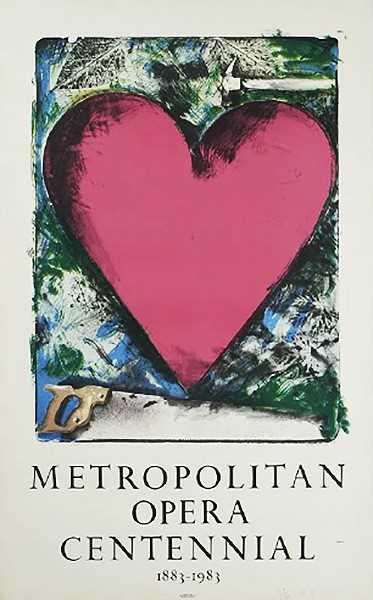 , 'A Heart at the Opera, Met Centennial,' 1983, Leviton Fine Art