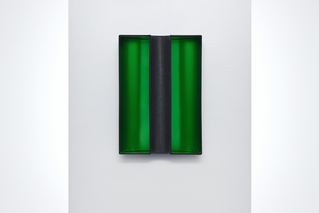 , 'Green Window,' 2016, Roehrs & Boetsch