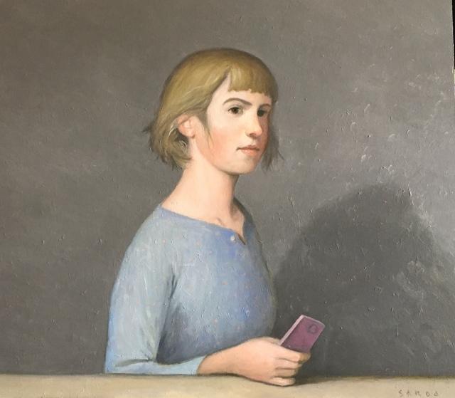 , 'Noia amb mòvil ,' 2017, Sala Parés
