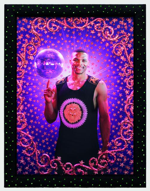 , 'Disco ball (Model: Russel Westbrook),' 2015, Templon