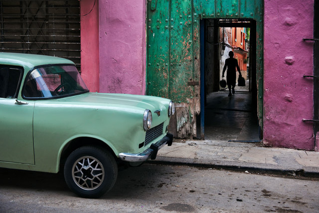 , 'Russian Car in Old Havana,' 2010, Cavalier Galleries