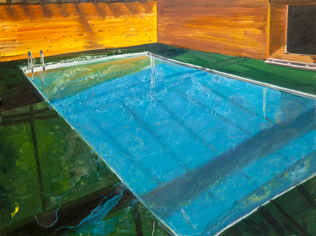 , 'Pool,' 2017, Galleri Magnus Karlsson