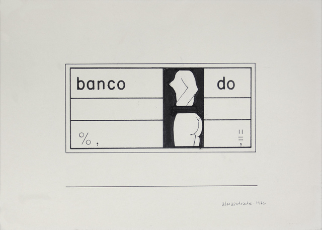 , 'Untitled - Visual Poem,' 1976, Roberto Alban Galeria de Arte