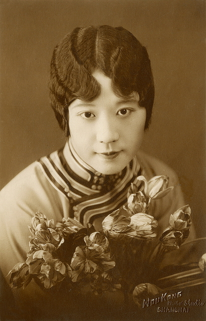, 'WouKong photo studio, Portrait of Violet Kwan,' ca. 1930, Taikang Space