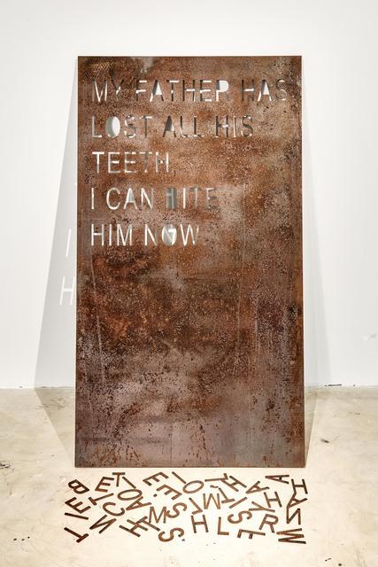 , 'Coma Manifesto 01,' 2017, Goodman Gallery