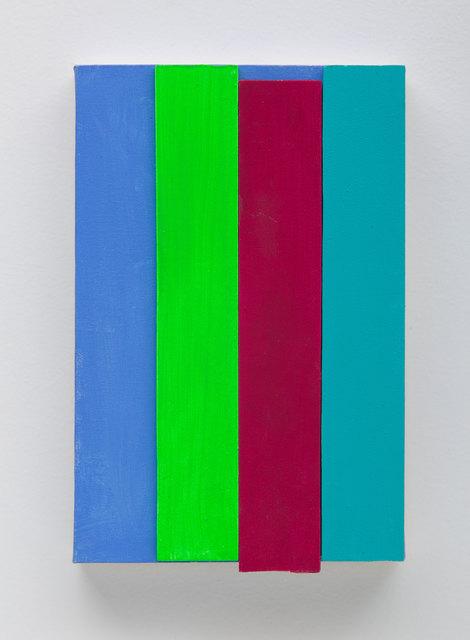 , 'Tela com tiras,' 2015, Galeria Nara Roesler