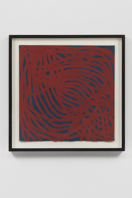 , 'Untitled (Irregular Lines),' 2002, Helwaser Gallery